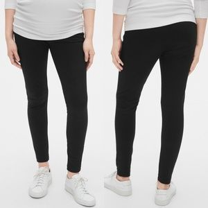 GAP Maternity Full Panel Ponte Leggings
